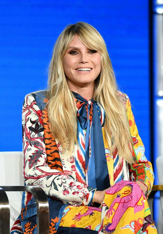 Heidi Klum - 2020 Winter TCA Tour in Pasadena 01/14/2020