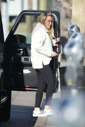 Hilary Duff - Out in Los Angeles 01/27/2020