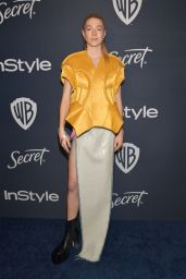 Hunter Schafer – Warner Bros. and InStyle 2020 Golden Globe After Party
