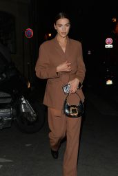 Irina Shayk - Out in Paris 01/22/2020