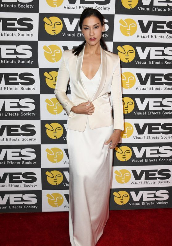 Janina Gavankar - Visual Effects Society Awards 2020