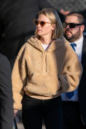 January Jones - Jimmy Kimmel Live! in LA 01/09/2020