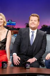 January Jones - The Late Late Show With James Corden in LA 01/15/2020
