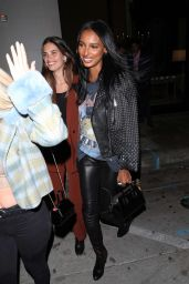 Jasmine Tookes and Sara Sampaio - Catch in West Hollywood 01/14/2020