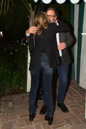 Jennifer Aniston Night Out - San Vicente Bungalow in West Hollywood 01/10/2020