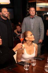 Jennifer Lopez - Benny Medina Birthday at Papi Steak in Miami Beach 01/24/2020