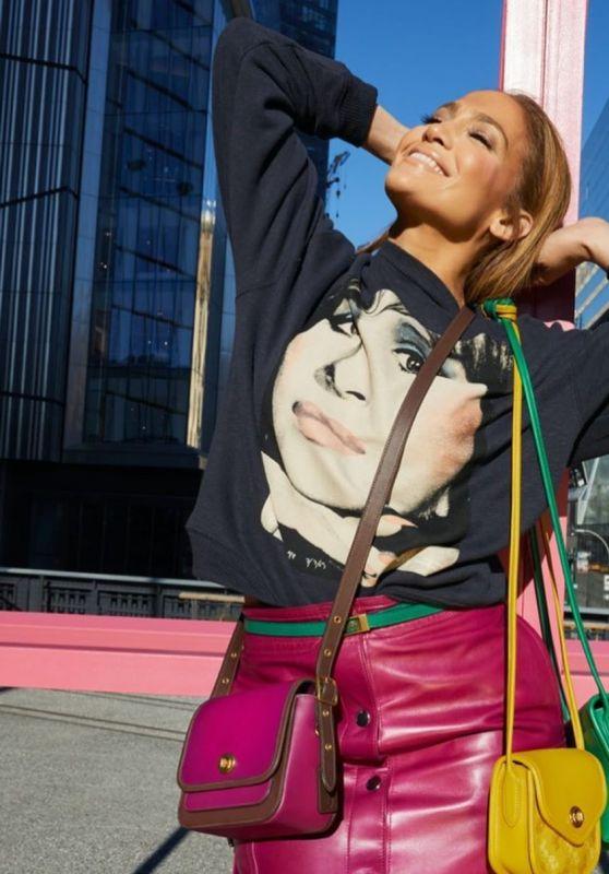 Jennifer Lopez - Coach Spring 2020 Campaign (Part I)