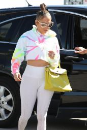 Jennifer Lopez in Gym Ready Outfit - Miami 01/21/2020