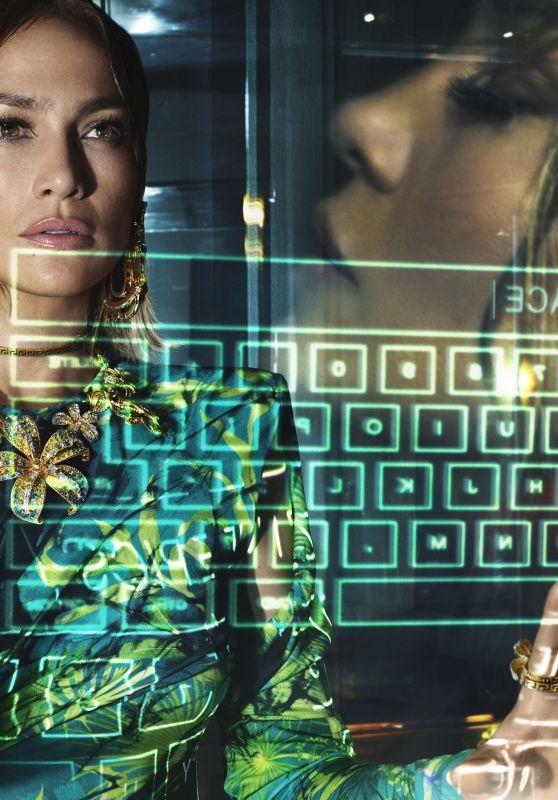 Jennifer Lopez - Versace Spring/Summer Campaign 2020