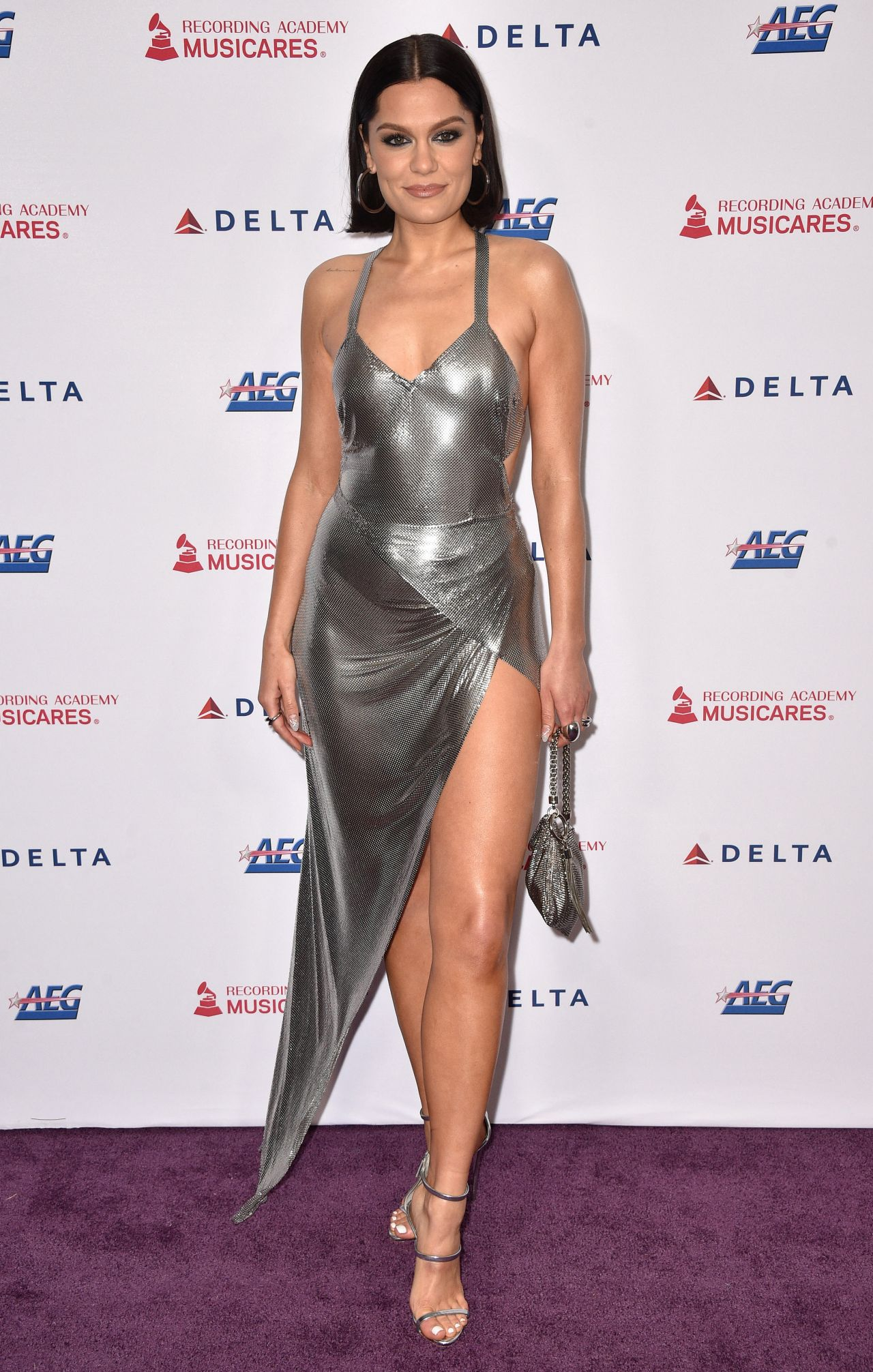 Jessie J - MusiCares Person of the Year Honoring Aerosmith in Los Angeles  01/24/2020 • CelebMafia