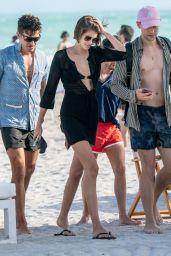 Kaia Gerber in a Bikini in Miami 01/11/2020