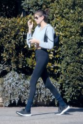 Kaia Gerber in Leggings - Out in Malibu 01/28/2020