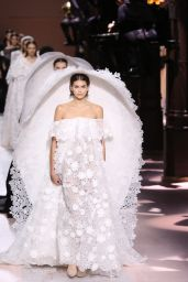 Kaia Gerber - Walks Givenchy Haute Couture Show in Paris 01/21/2020