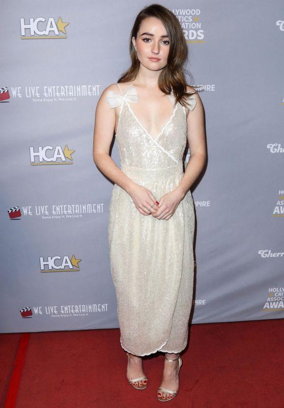 Kaitlyn Dever - Hollywood Critics Awards 2020
