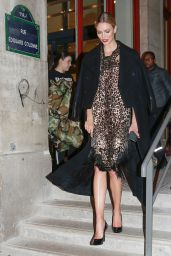 Karlie Kloss - Leaving the Jean-Paul Gaultier Show in Paris 01/22/2020