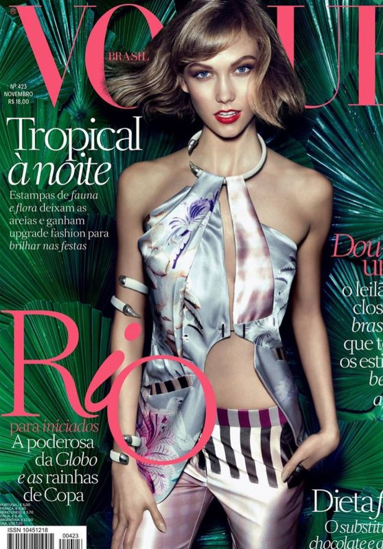 Karlie Kloss - Vogue Magazine Covers