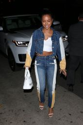 Karrueche Tran Night Out Style - Mr. Chow in Beverly Hills 01/28/2020