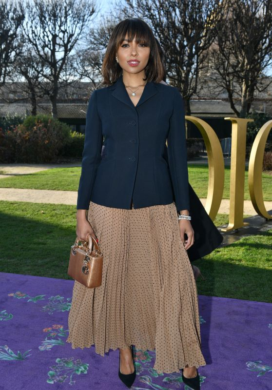 Kat Graham – Dior Haute Couture Show at Paris Fashion Week 01/20/2020