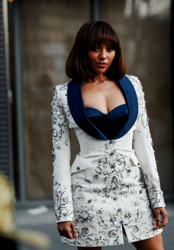Kat Graham – Ralph and Russo Fashion Show in Paris 01/20/2020
