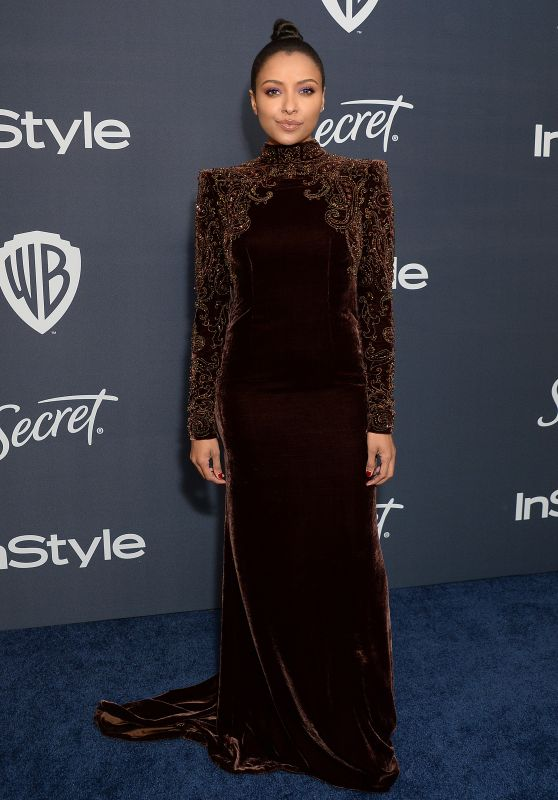 Kat Graham – Warner Bros. and InStyle 2020 Golden Globe After Party