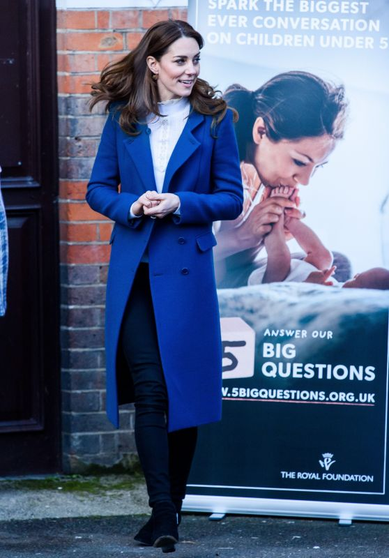 Kate Middleton - Visits Leyf Stockwell Gardens Nursery 01/29/2020