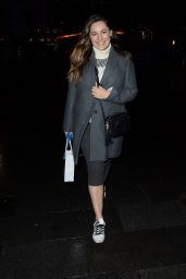 Kelly Brook - Leaving Global Radio Studios in London 01/06/2020