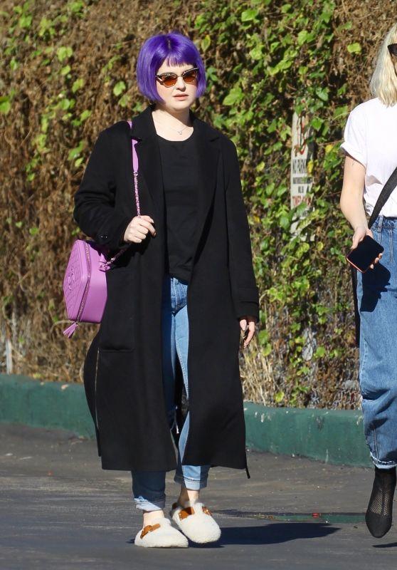 Kelly Osbourne and Lisa Stelly - Street Style 12/31/2019