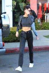 Kendall Jenner - Leaves Alfreds in West Hollywood 01/23/2020