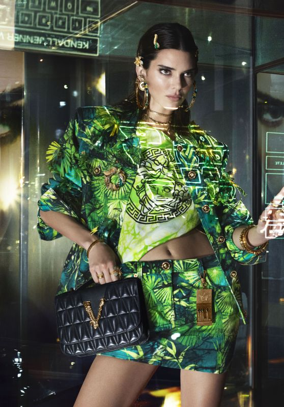 Kendall Jenner - Versace Spring Summer 2020 Campaign