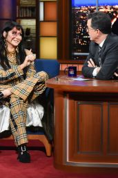 Kesha - The Late Show With Stephen Colbert in New York 01/10/2020