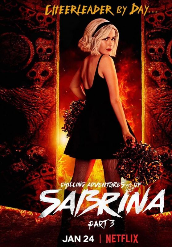 Kiernan Shipka - Chilling Adventures of Sabrina - Part 3 (2020) Promo Poster