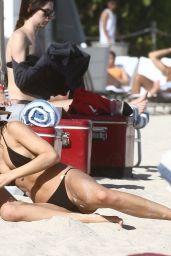 Kimberley Garner in a Bikini - Miami Beach 01/13/2020
