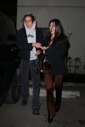 Kourtney Kardashian Night Out - Matsuhisa in Beverly Hills 01/08/2020
