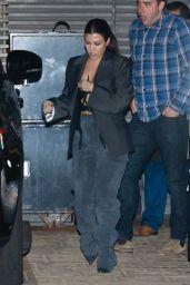 Kourtney Kardashian Night Out Style - Nobu in Malibu 01/15/2020
