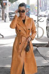 Kourtney Kardashian Street Fashion - Los Angeles 01/24/2020