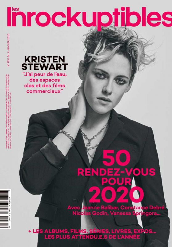 Kristen Stewart - Les Inrockuptibles France January 2020 Issue