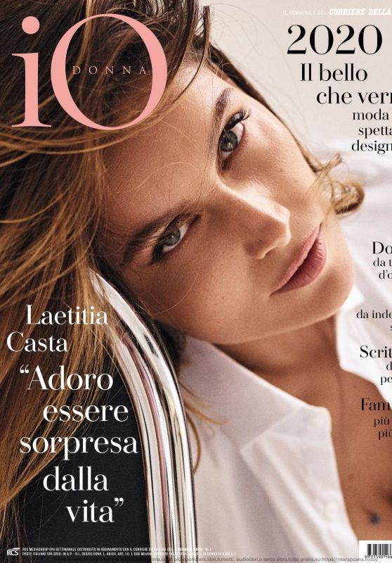 Laetitia Casta - Io Donna del Corriere Della Sera 01/04/2020 Issue