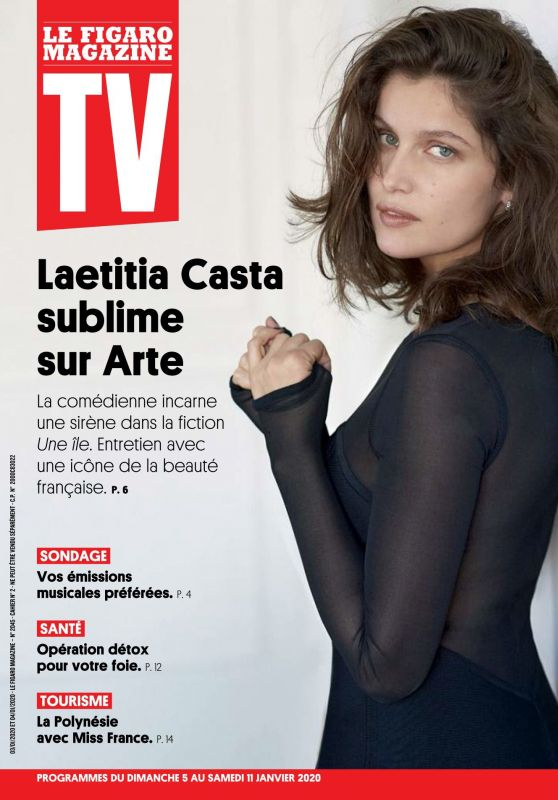 Laetitia Casta - TV Magazine France 01/05/2020 Issue