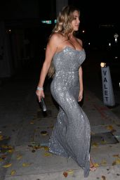 Larsa Pippen - Leaving Craig's in West Hollywood 01/21/2020