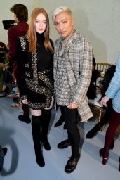 Larsen Thompson - Ellie Saab Show at Paris Fashion Week 01/22/2020