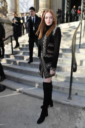 Larsen Thompson - Outside the Ellie Saab Fashion Show in Paris 01/22/2020