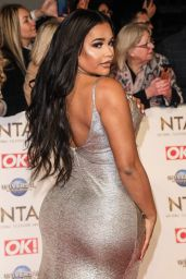 Lateysha Grace – National Television Awards 2020 in London