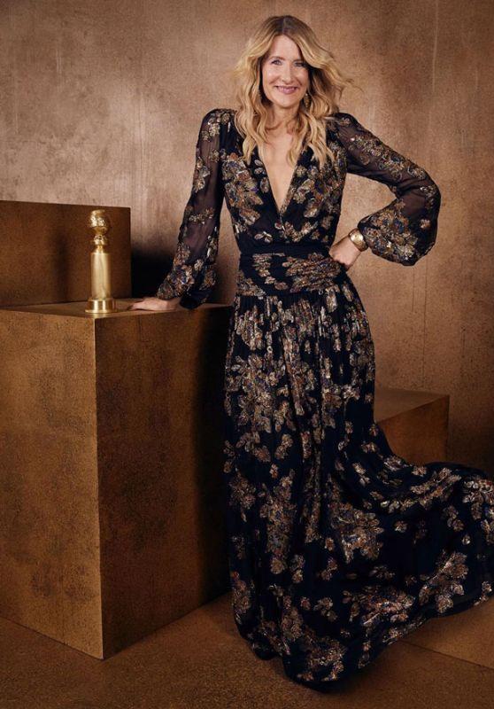 Laura Dern - Golden Globes 2020 Official Portrait