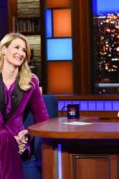 Laura Dern - The Late Show with Stephen Colbert in New York 01/10/2020
