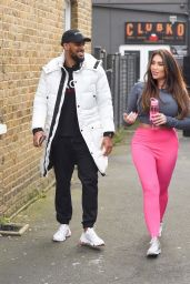 Lauren Goodger - Leaving the Gym in Chigwell UK 01/10/2020