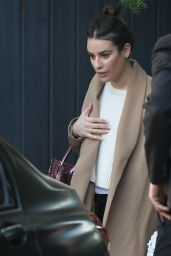 Lea Michele - Out in Los Angeles 01/12/2020