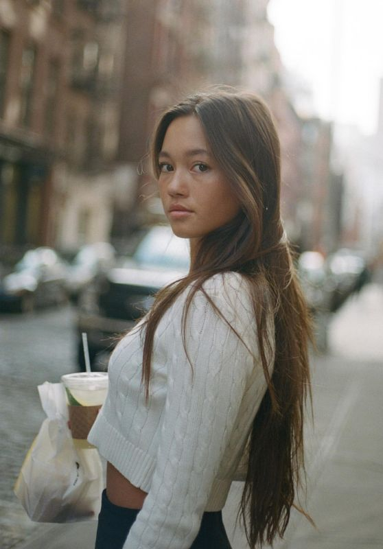 Lily Chee - Photoshoot in New York January 2020