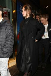 """Lily James - Arriving at the Re-Opening of """"Les Miserables"""" in London 01/16/2020"""