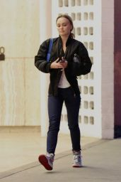 Lily-Rose Depp - Out in Los Angeles 01/03/2020