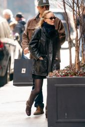 Lily-Rose Depp - Shopping in NYC 01/24/2020